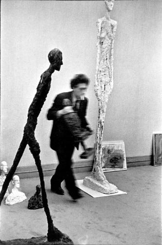 Giacometti -photograph by Henri Cartier-Bressan  (public domain)