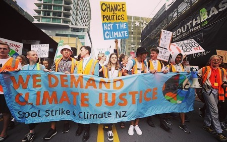Proud of my country, specifically the youth, for taking a stand to protect their future and the future of this incredible planet. 🌏#climatestrike #protectthefuture #govegan #schoolstrike4climate #fridaysforfuture