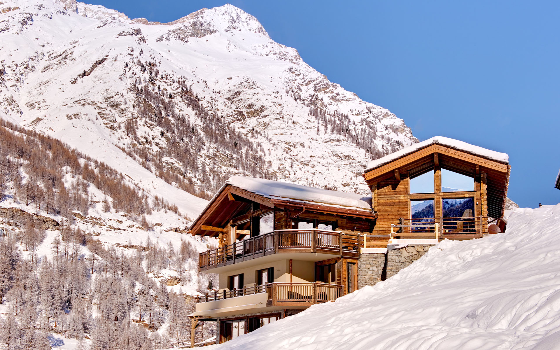 we specialise in chalet design -