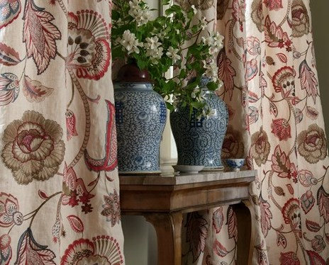 curtain making -