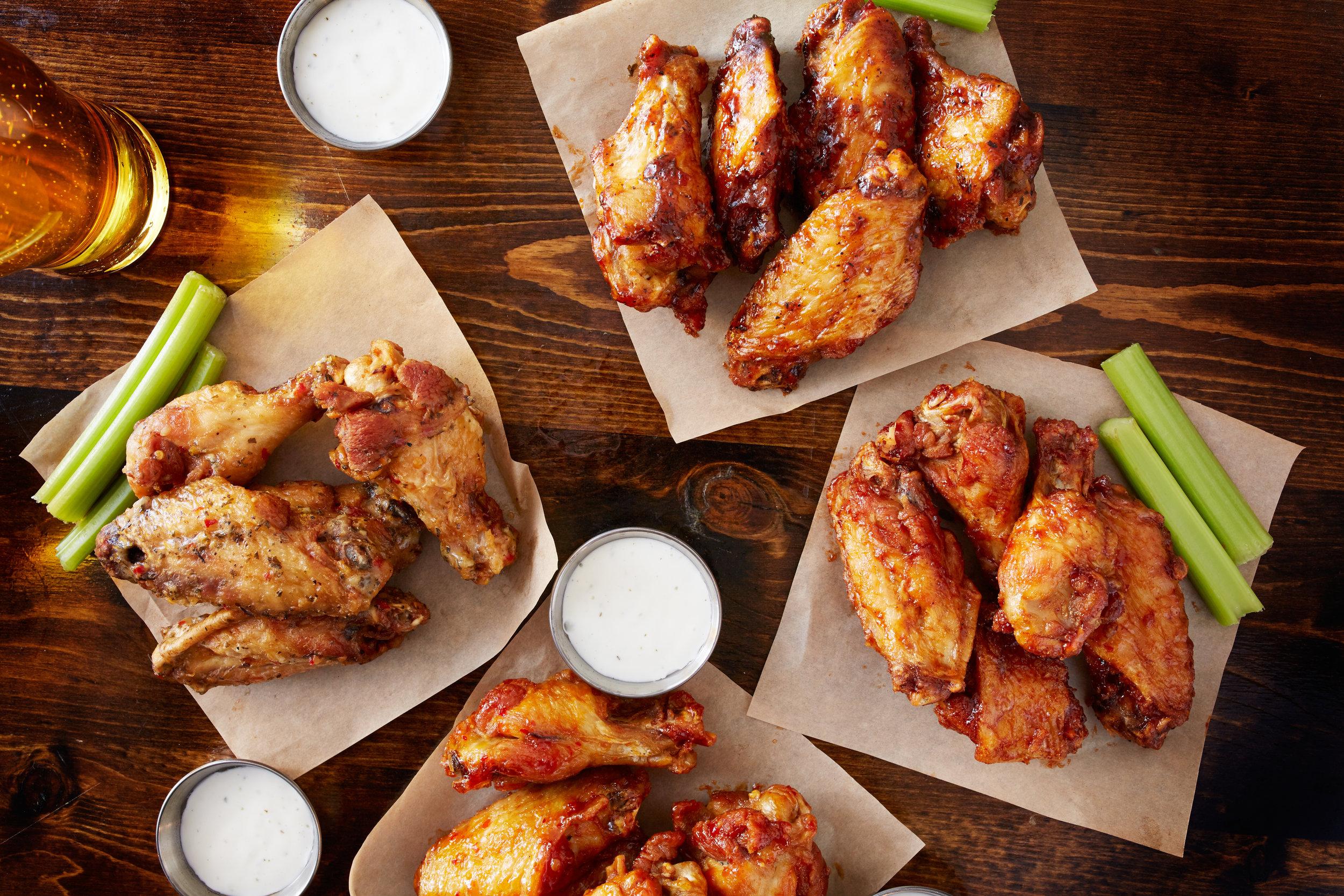 Cosori All Cosori Recipes Dry Rubbed Chicken Wings