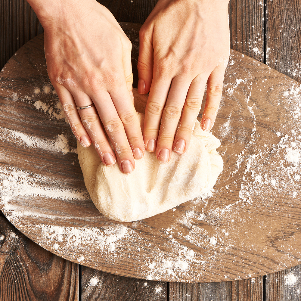 Bring the Batter   Relieve your hands of breadmaking duty. You can even prep dough and batter in your blender.