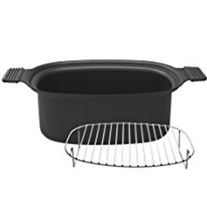 Easy-to-Clean Parts   Both the water-based non-stick inner pot and the included steam rack accessory are dishwasher safe, making big meals a breeze to clean.