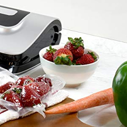 Press Vacuum Seal Repeatedly, Seal Delicate Food Easily   This machine let you stop the vacuum process whenever you want so it doesn't crush soft foods.