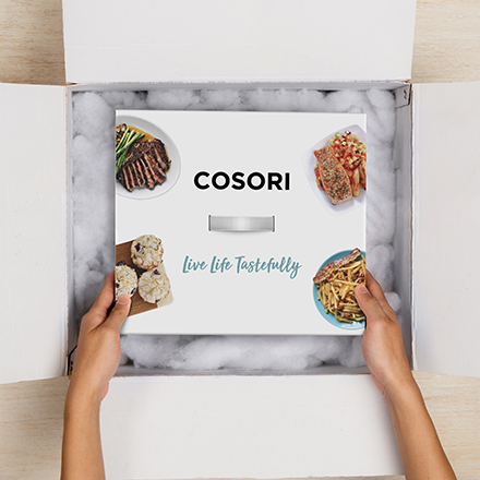 A Great Gift   Give the gift of flavor. Cosori's Stainless Steel Air Fryer makes a perfect present for friends and family.