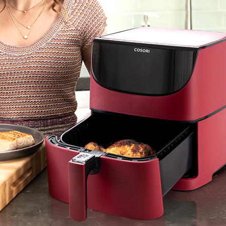 Cook Clean   The Cosori Air Fryer doesn't generate smoke when cooking, ensuring that it is good for your health—both before and after you eat.
