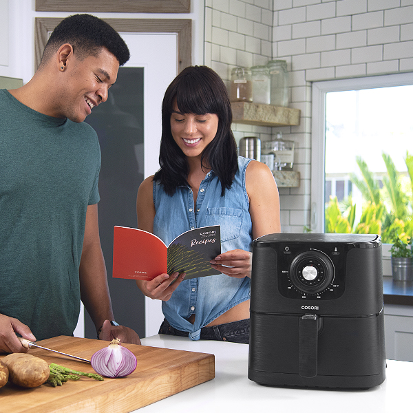 Recipe Book   Each air fryer comes with 30 recipes for you to try.