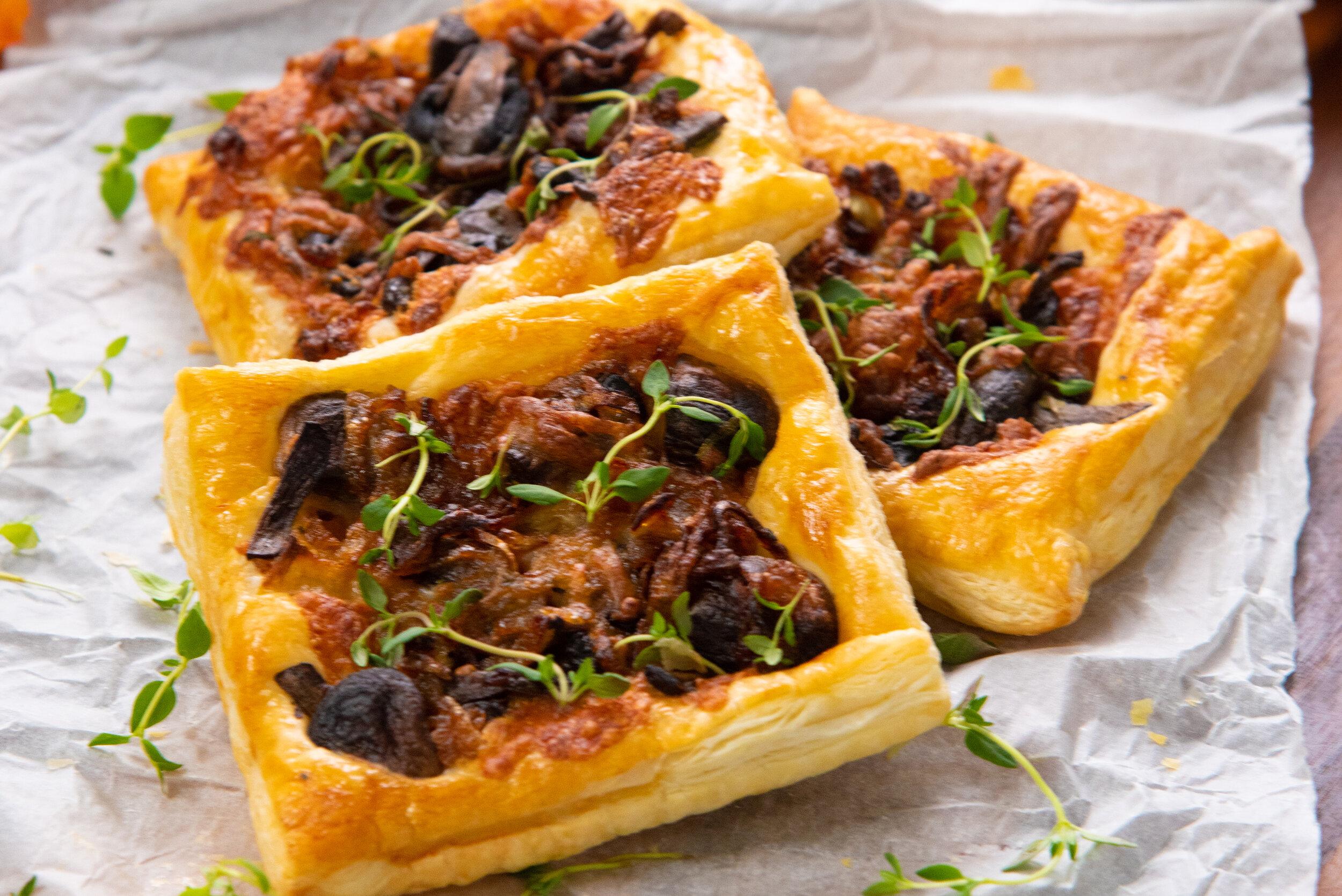 Gruyere, Mushroom, & Caramelized Onion Puffs-2.jpg