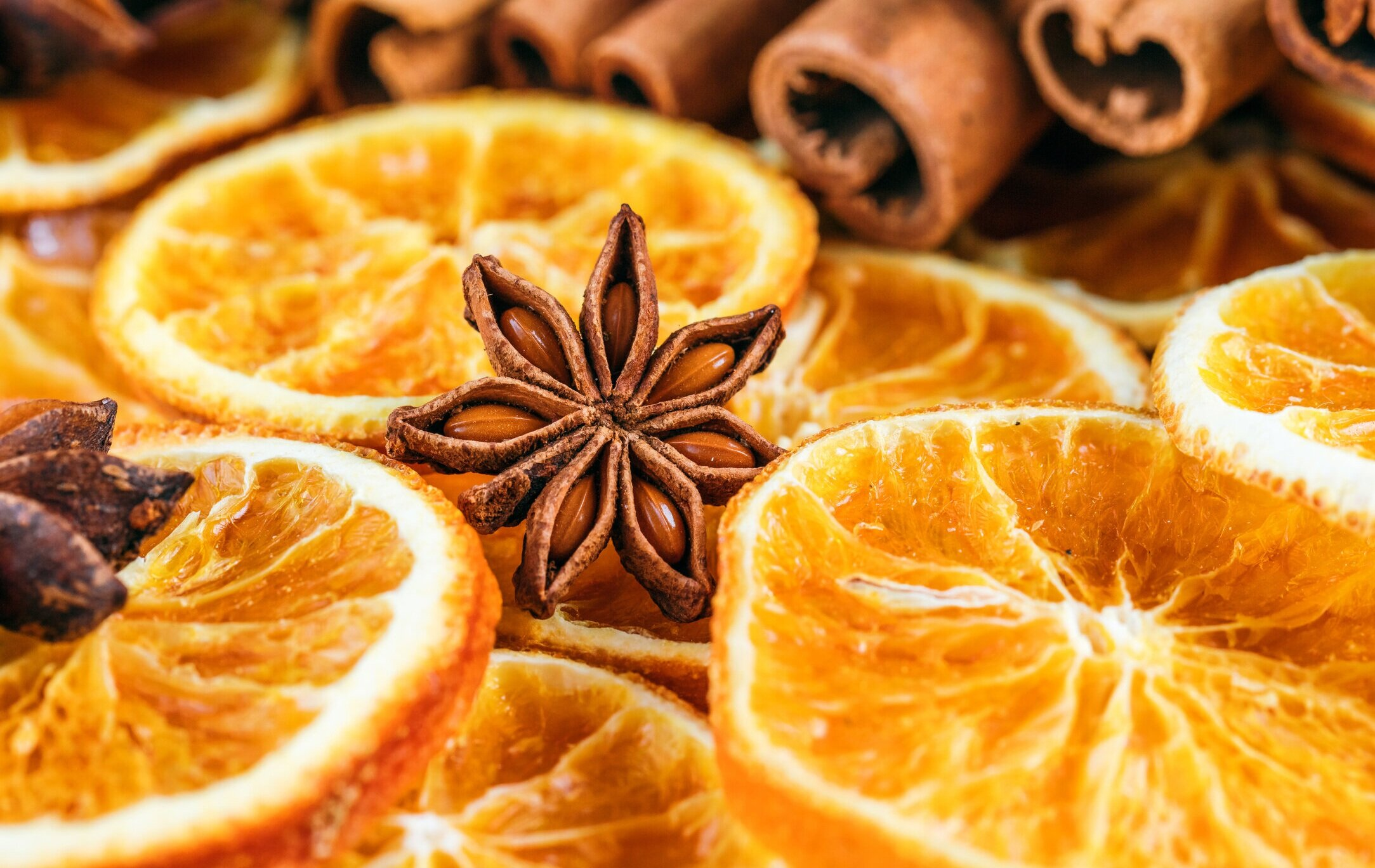 Dehydrated Spiced Orange Slices