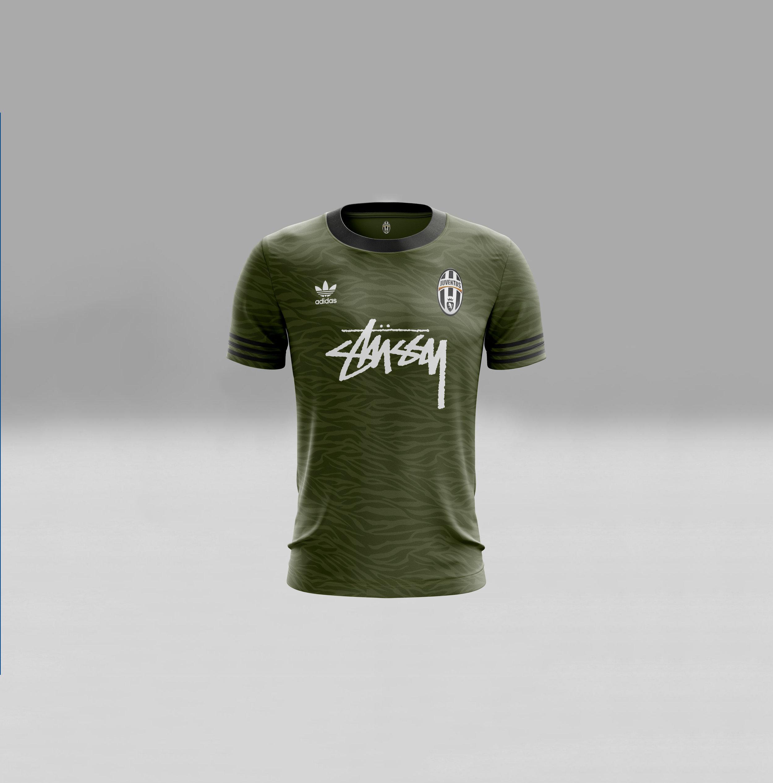 Juventus x Stussy