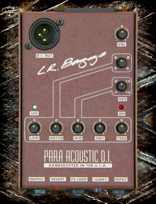 L R Baggs para acoustic DI