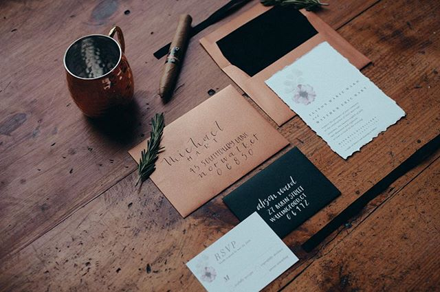 Absolutely loved designing this invitation suite 💌〰️ ⠀⠀⠀⠀⠀⠀⠀⠀⠀ ———⠀⠀⠀⠀⠀⠀⠀⠀⠀ ⠀⠀⠀⠀⠀⠀⠀⠀⠀ ⠀⠀⠀⠀⠀⠀⠀⠀⠀ Vendors ✨  Venue: @mine_hill_distillery Planner & Design Concept: @alyssajeanevents Photographer:@parenthesisphotography Florals: @the_gardenist Models: @nicoleincolour  @littlethingsolga  @the_yavuzusluca Cake:@storeybookcakes Rentals:@peakeventservices @ladyslipperevents Dress: @julieallenbridals Menswear: @jtghamo Hair & Makeup: @alluretravelingbeauty Stationery:@lettersbylash  Props & Styling: @3236tinave ⠀⠀⠀⠀⠀⠀⠀⠀⠀ ⠀⠀⠀⠀⠀⠀⠀⠀⠀ ⠀⠀⠀⠀⠀⠀⠀⠀⠀ ⠀⠀⠀⠀⠀⠀⠀⠀⠀ ——— #handlettering #calligraphy #lettersbylash #lettering #letteringleague #calligstagram #handlettered #artist #moderncalligraphy #thedailytype #calligrapher  #calligraphylove #weddingstationery #weddingseason #ctweddingseason #weddingvendor #weddingcalligraphy #cardsandpockets #fallwedding #weddingseason2018 #envelopecalligraphy #placecards #styledshoot #weddinginspiration #distillery #weddingvenue #ctweddings #newenglandwedding #weddingday #autumnwedding