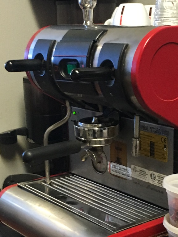 Nick riffs on an age-old comparison about Italian sports cars to describe his cappuccino machine: bellissima, but with a mind of its own.