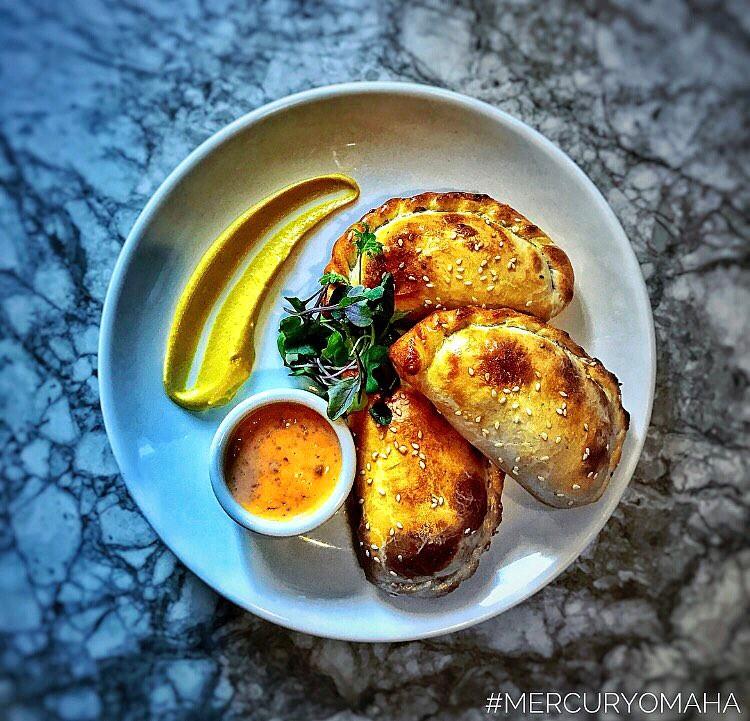 One of Tony's empanada creations. (Photo courtesy of Mercury)