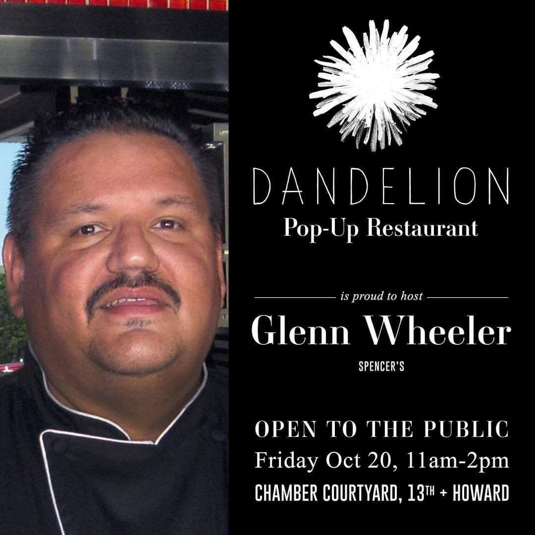 Chef Glenn Wheeler is bringing a taste of the Caribbean to Dandelion
