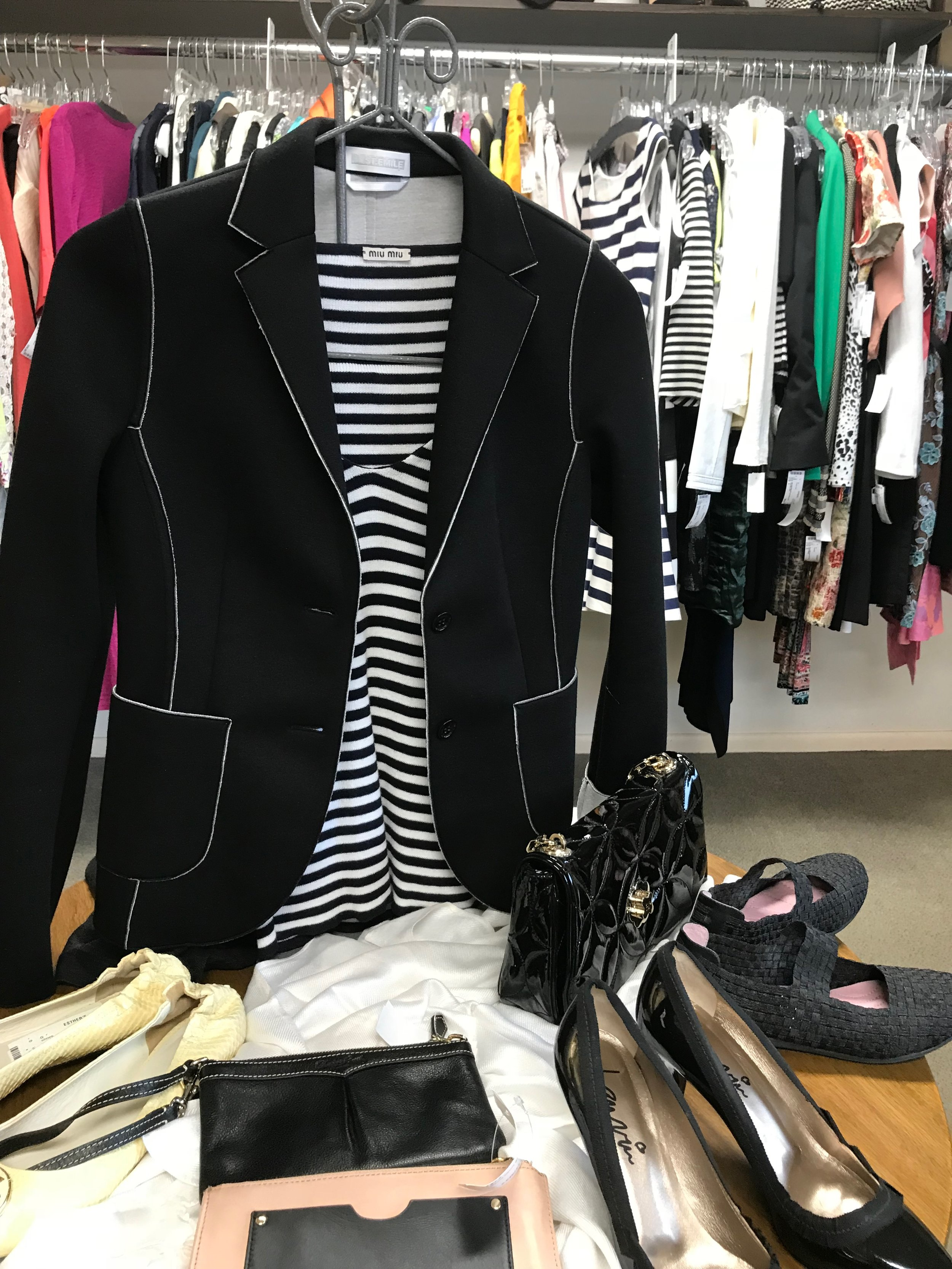 Nautical chic from Miu Miu, Lanvin and others at Omaha's Esther's.