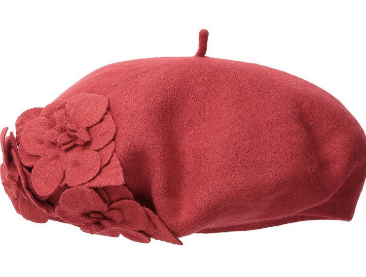 Midge may be too much of an Upper West Side princess to ever go full beatnik like some of her comedy club counterparts, but a jaunty red beret is an on-brand nod to her secret life. San Diego Hat Company Women's Wool Beret in red, $30 on  Amazon .