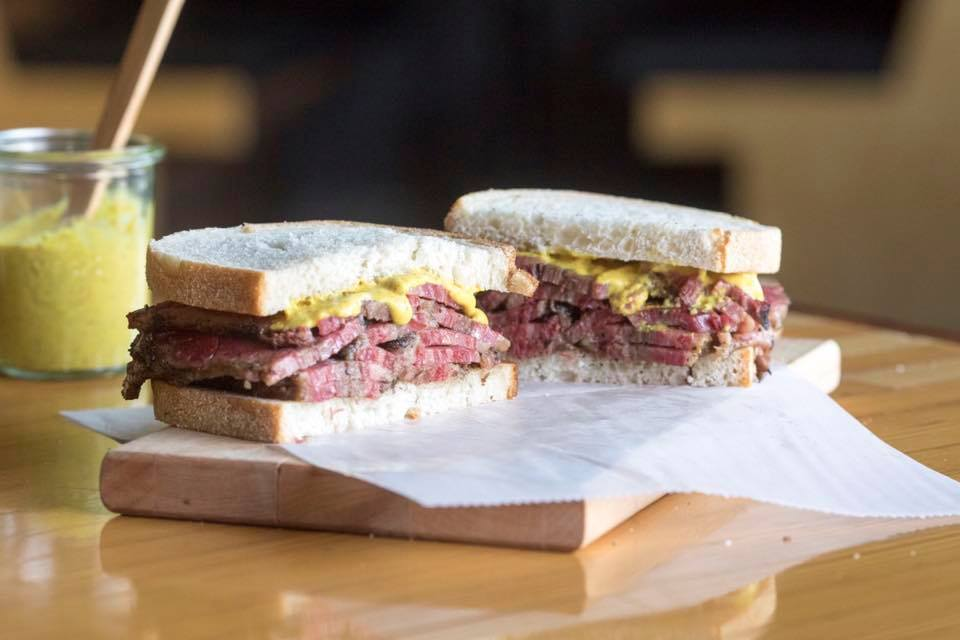 Midge's accessories may be a feast for the eyes, but the classic Jewish deli foods depicted in nearly every episode of TMMM are a feast for the senses. So much so, that Amazon recreated the legendary Carnegie Deli, which closed in 2016, in a popup restaurant to celebrate the premiere of Season 2. The gorgeous pastrami pictured here, though, is from  Ansel's Pastrami and Bagels  in Omaha's Blackstone District, which also makes real NY bagels, using actual NYC-filtered water. (photo courtesy of Ansel's Pastrami and Bagels)