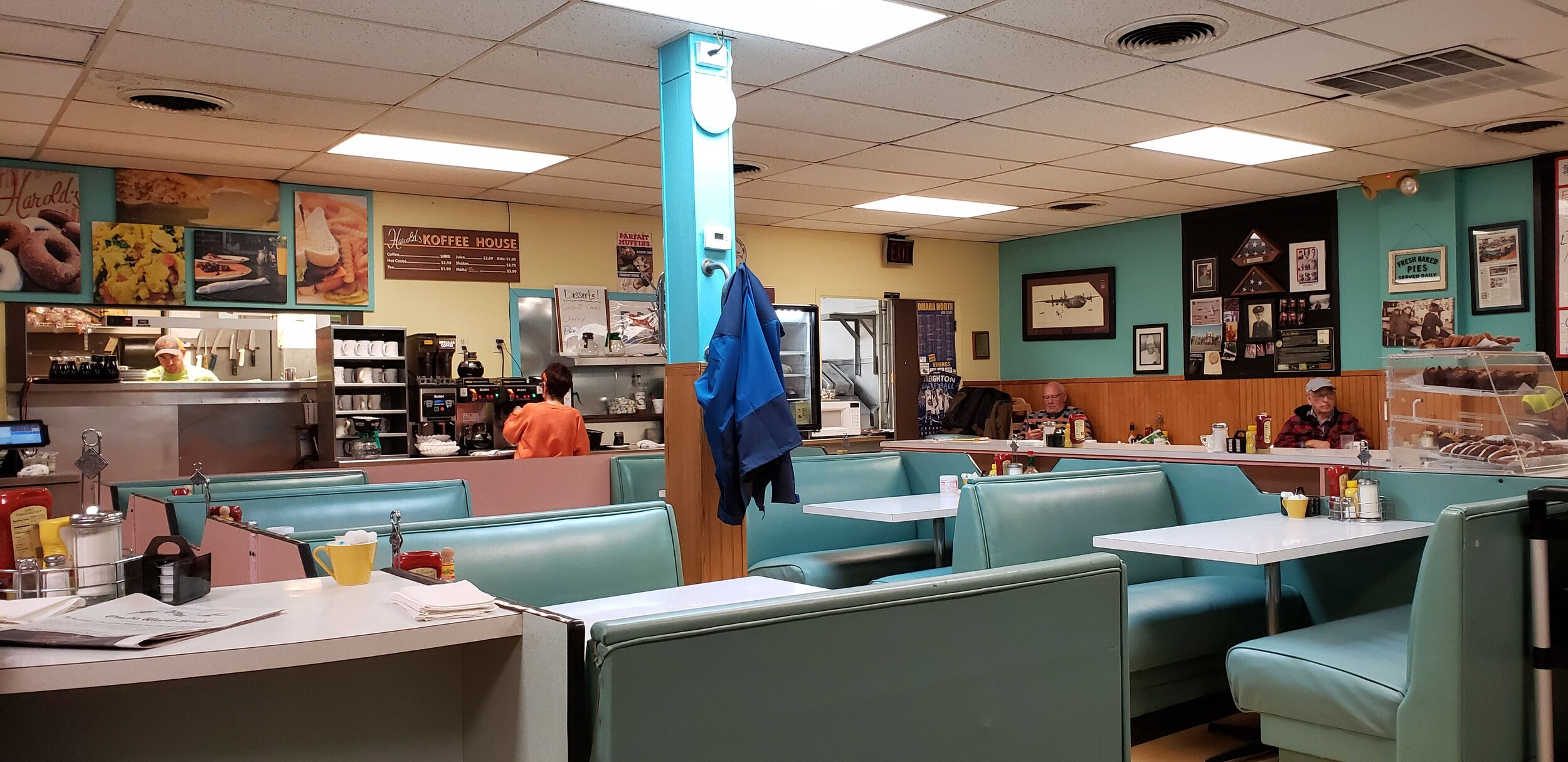 Harold's Koffee House is a classic mid-century diner in Omaha's Florence neighborhood. Photo courtesy of Lisa and Tim Trudell.