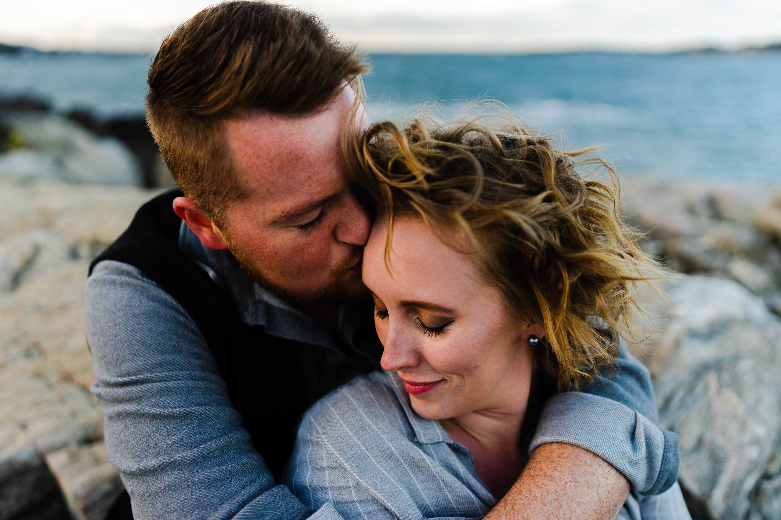 Portland Maine Engagement Session Bissell Brothers Fort Williams State Park Portland Headlight 7