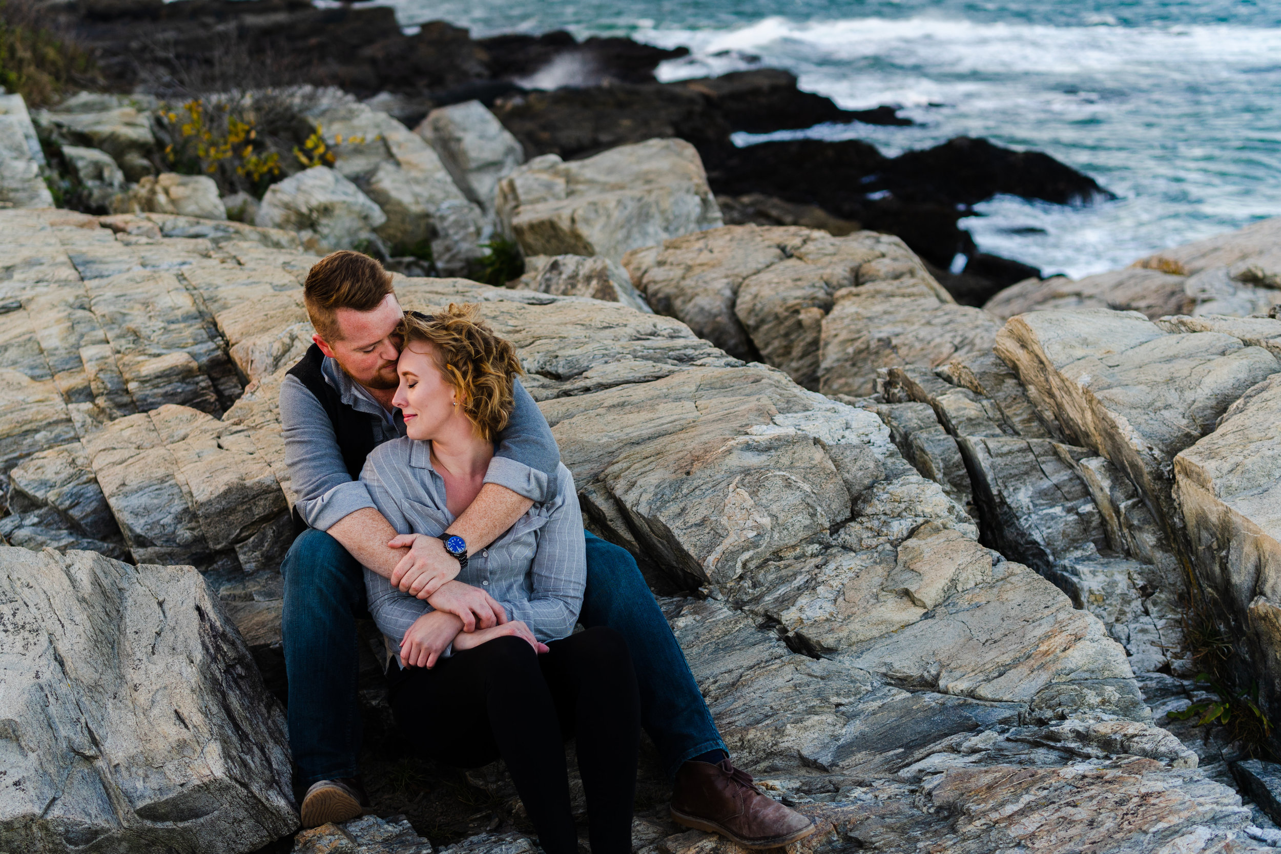 Portland Maine Engagement Session Bissell Brothers Fort Williams State Park Portland Headlight 8