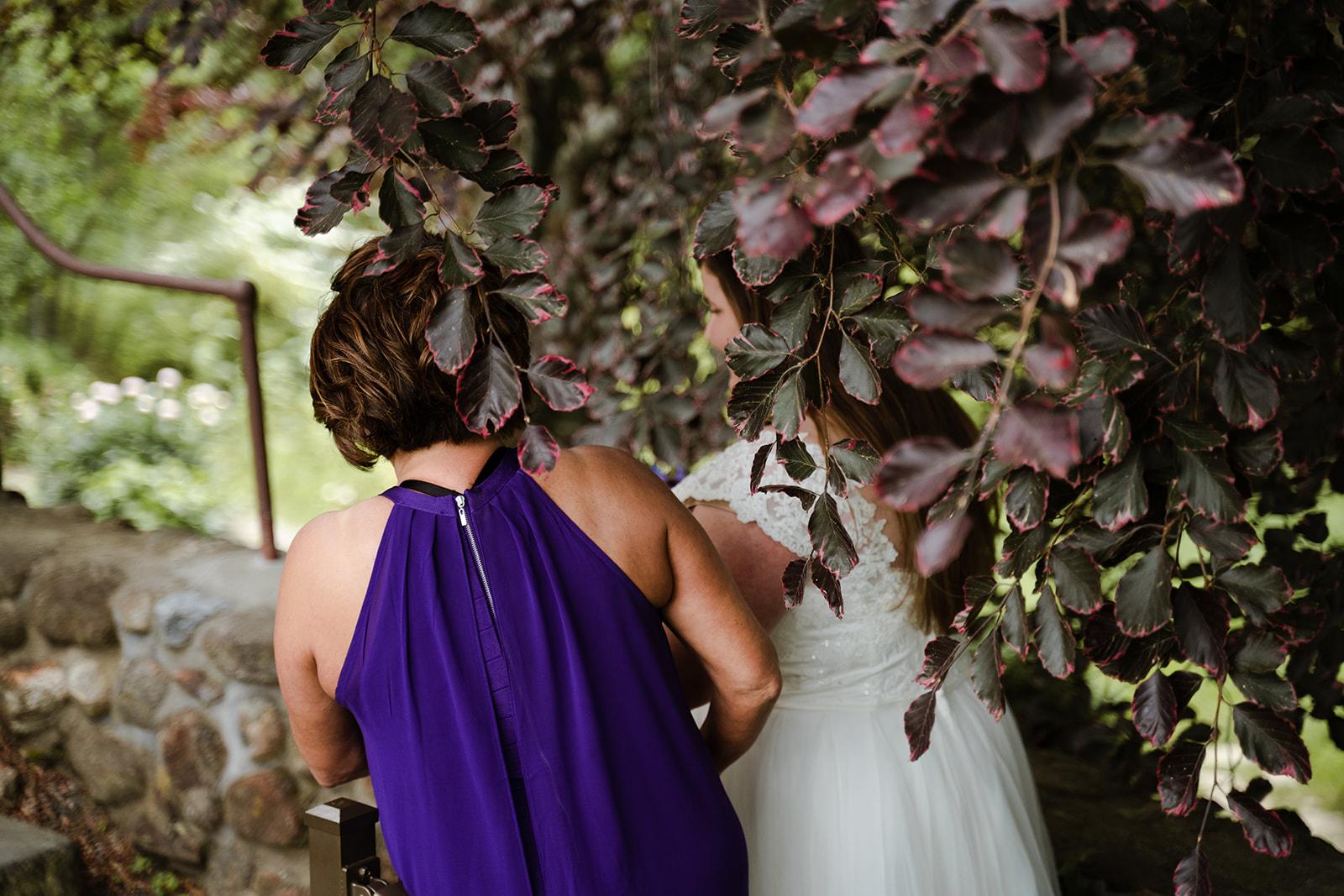 coastal wedding plus size couple rockland maine vesper hill childrens chapel 24