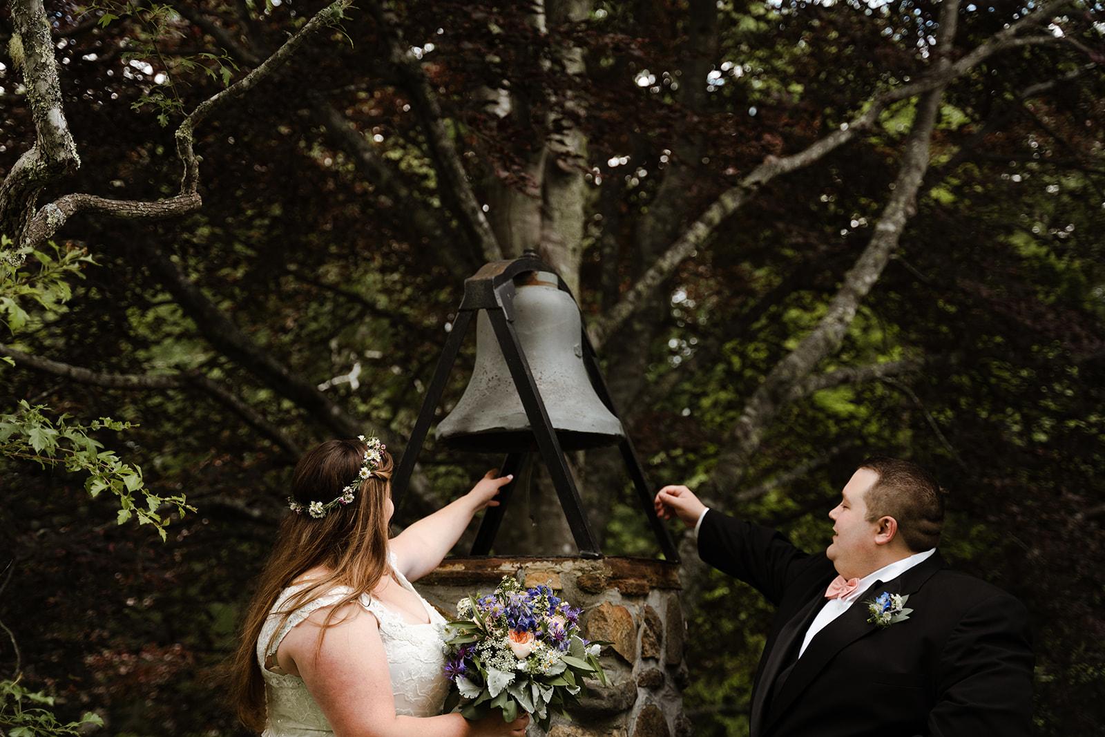 coastal wedding plus size couple rockland maine vesper hill childrens chapel 42