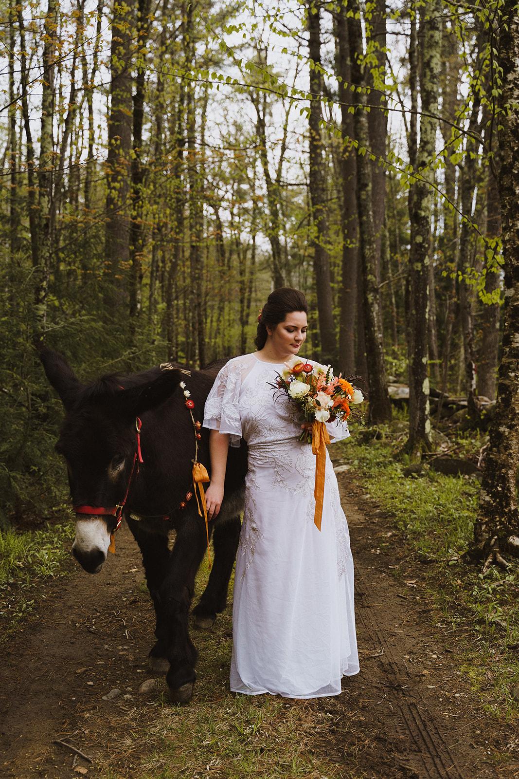 Tuckaway Tree Farm Lebanon Maine Wedding Inspiration 23