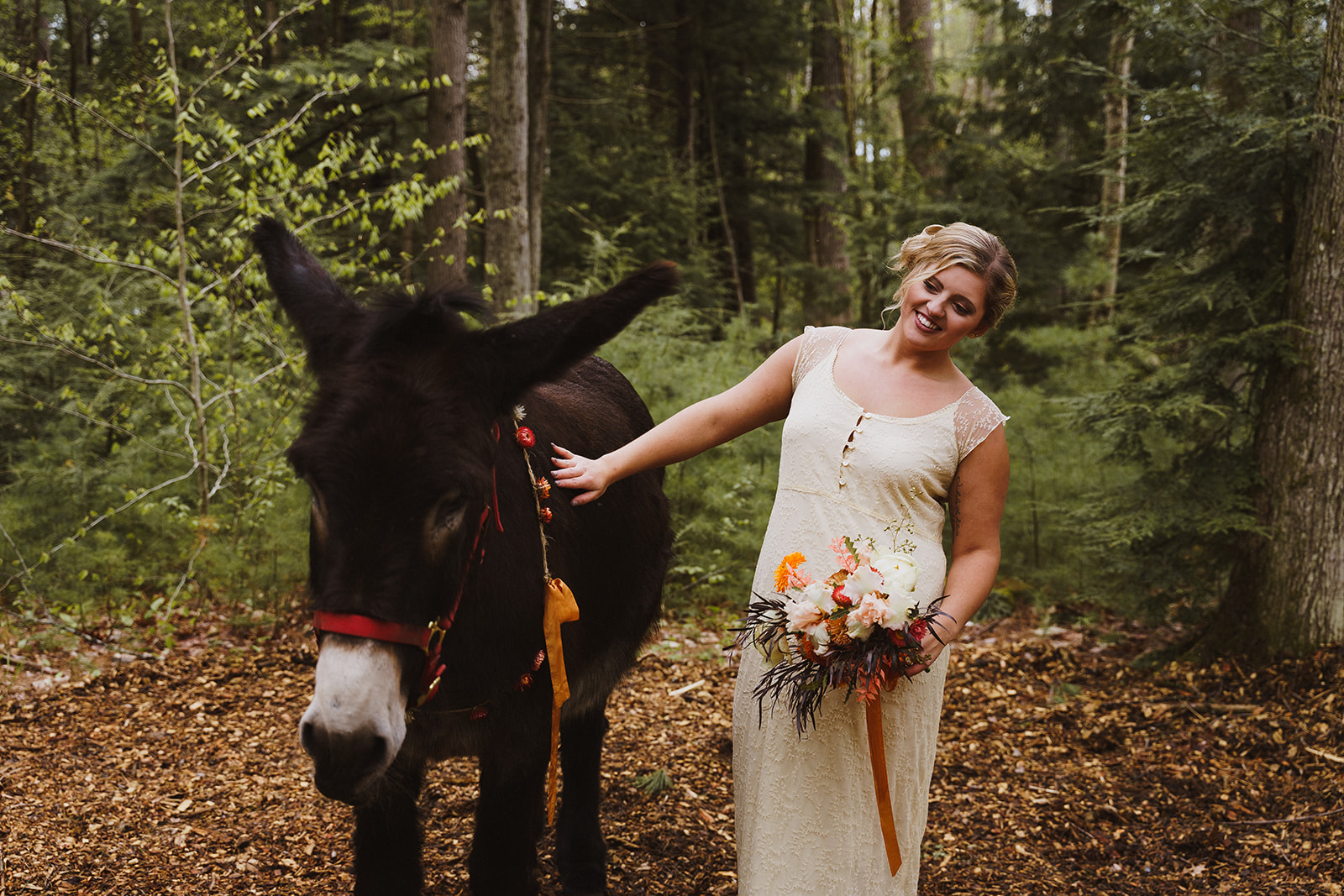 Tuckaway Tree Farm Lebanon Maine Wedding Inspiration 74