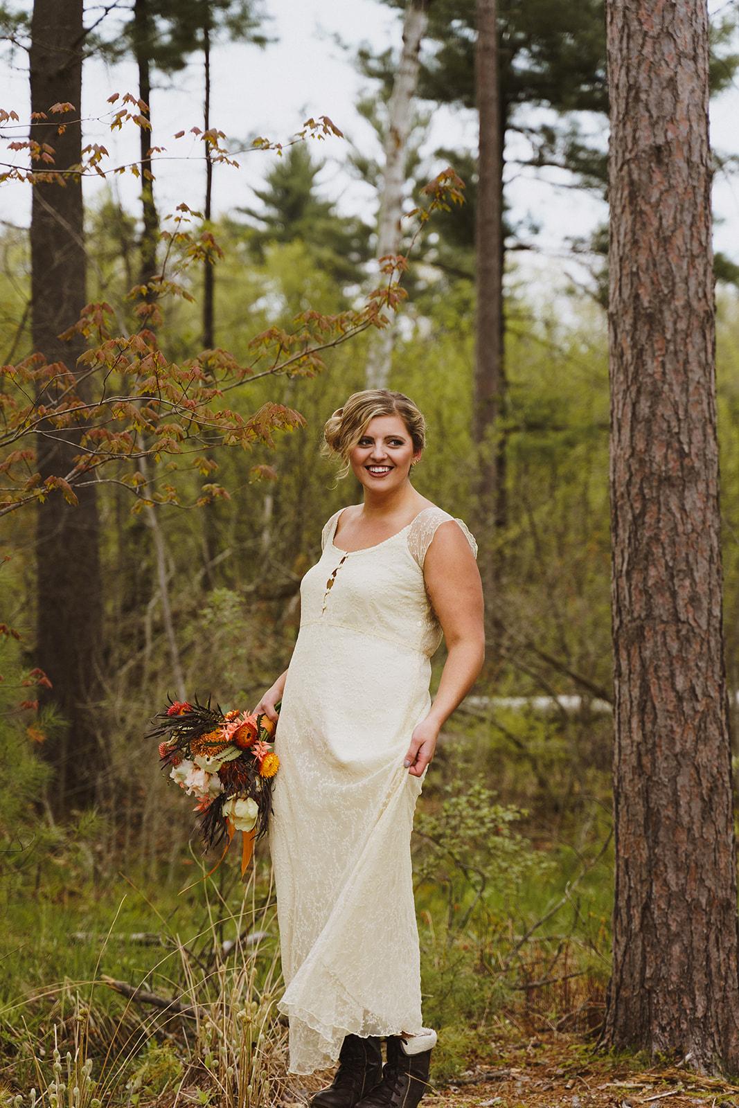 Tuckaway Tree Farm Lebanon Maine Wedding Inspiration 75