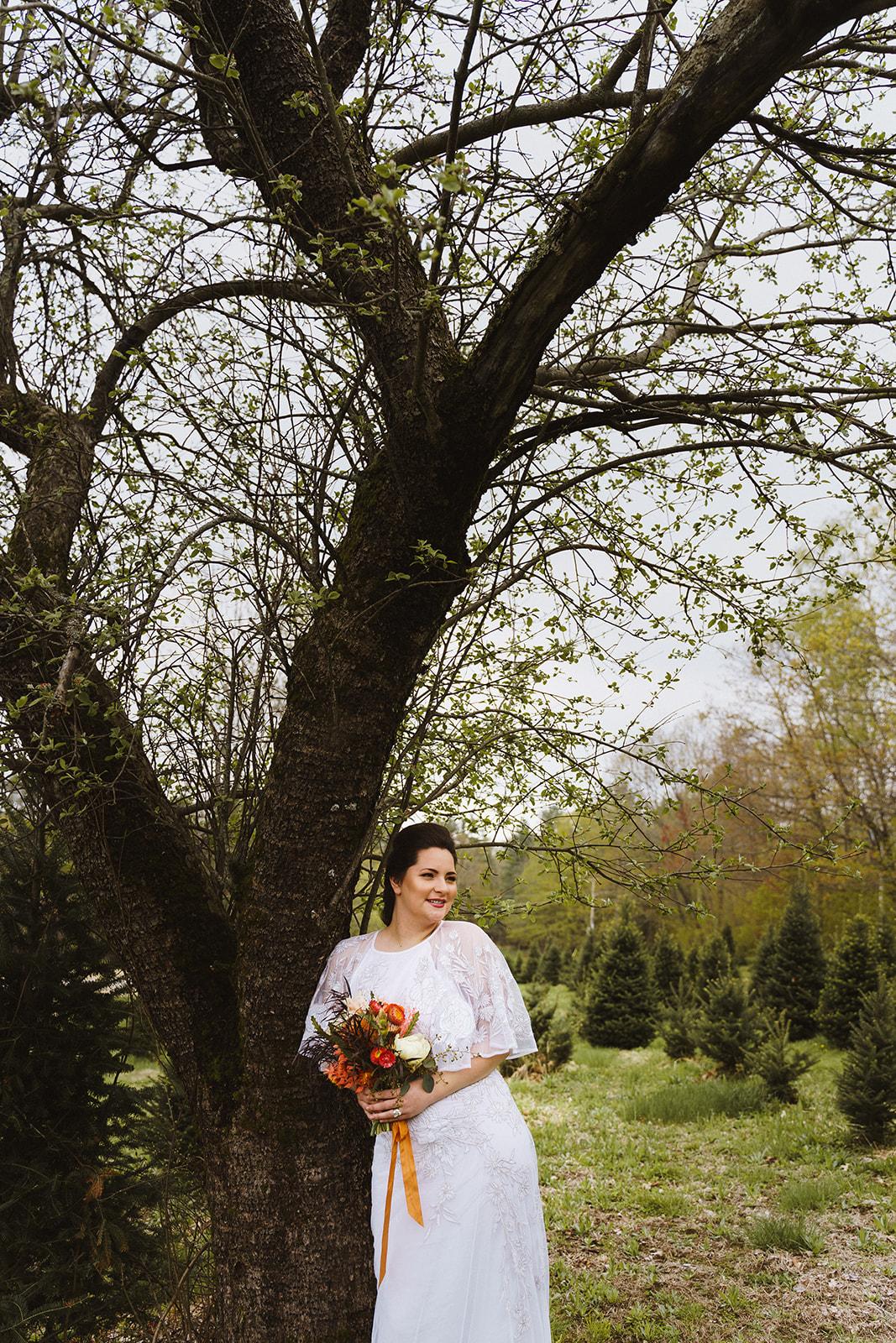 Tuckaway Tree Farm Lebanon Maine Wedding Inspiration 80