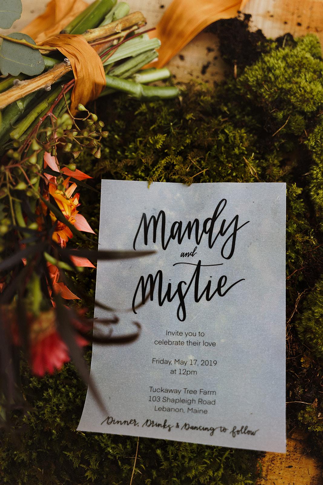 Tuckaway Tree Farm Lebanon Maine Wedding Inspiration 86