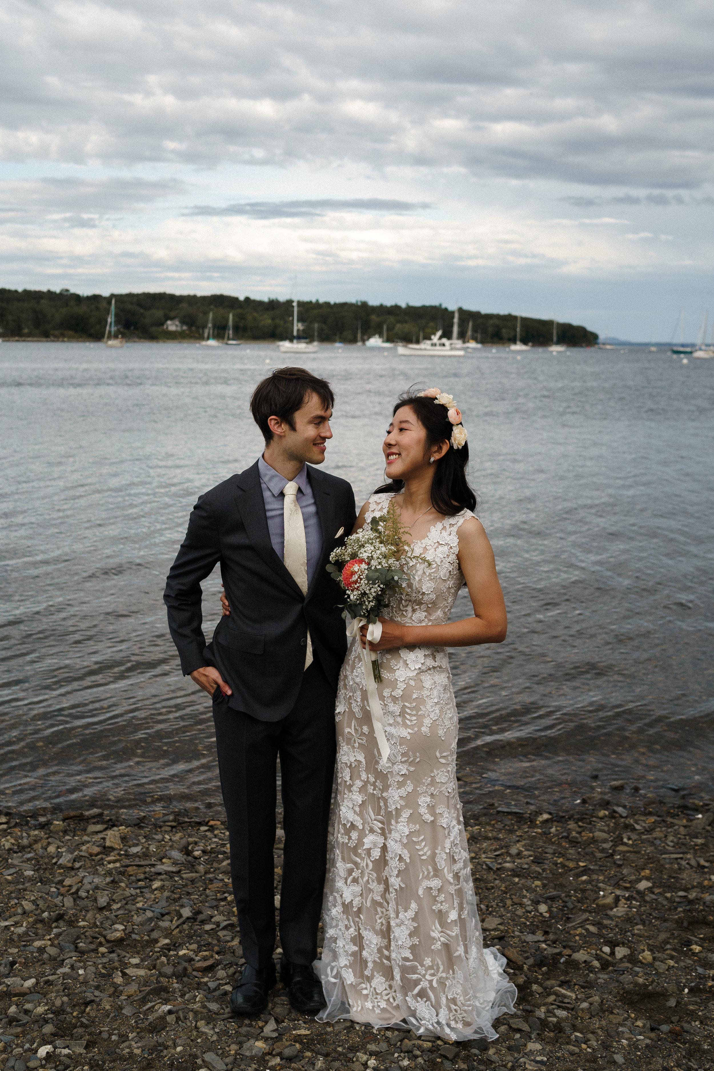 Belfast Maine Coastal Destination Wedding Maine Wedding Photographer Oregon Wedding Photographer  6