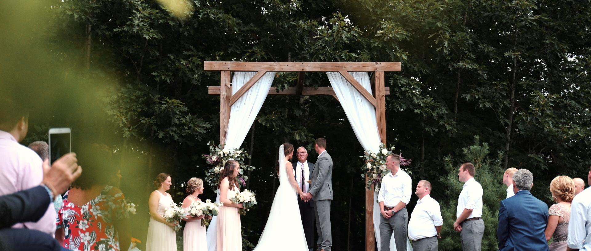 Barn at Silver Oaks Estate Maine Wedding Video Photo 7
