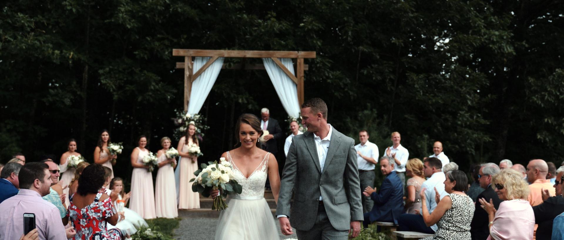 Barn at Silver Oaks Estate Maine Wedding Video Photo 8