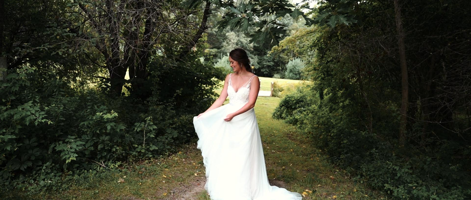 Barn at Silver Oaks Estate Maine Wedding Video Photo 11