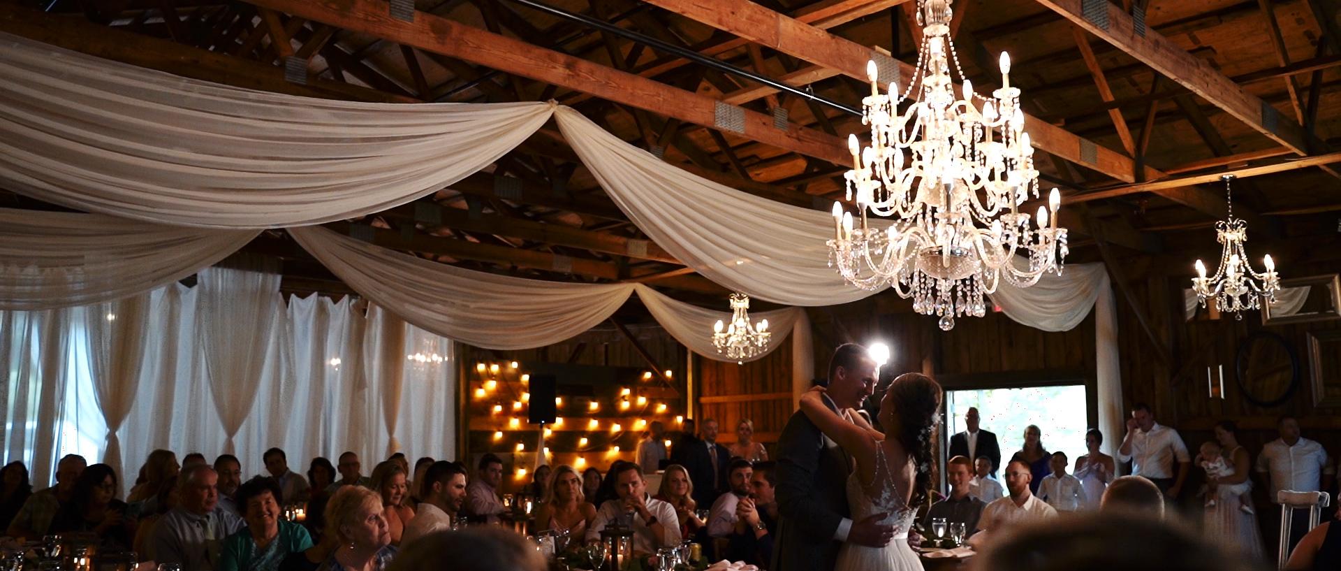 Barn at Silver Oaks Estate Maine Wedding Video Photo 17