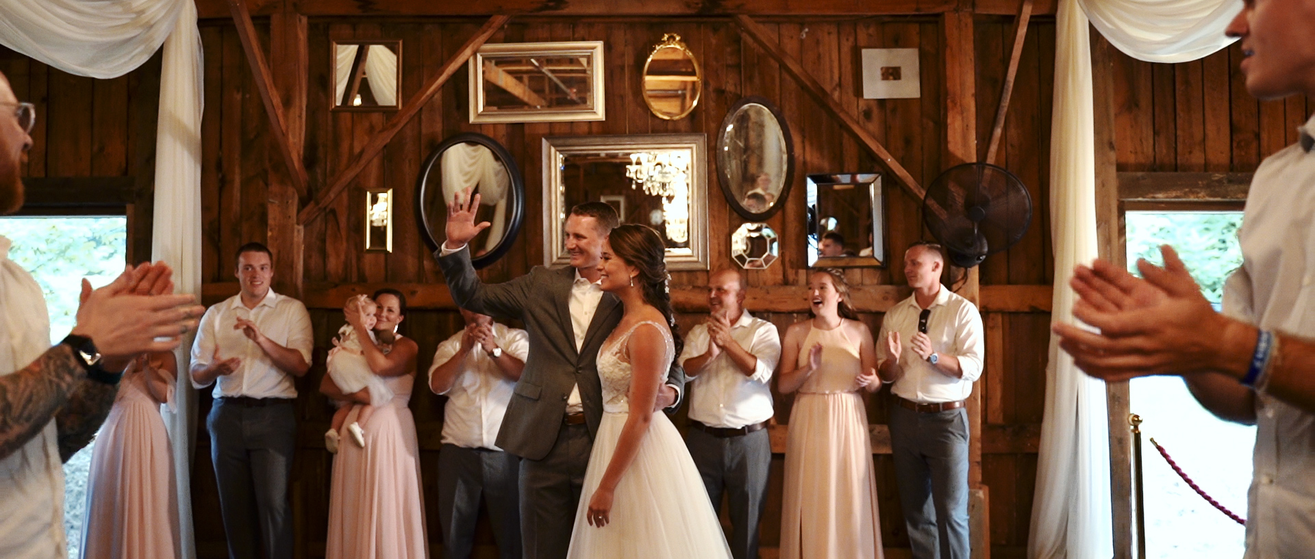 Barn at Silver Oaks Estate Maine Wedding Video Photo 19