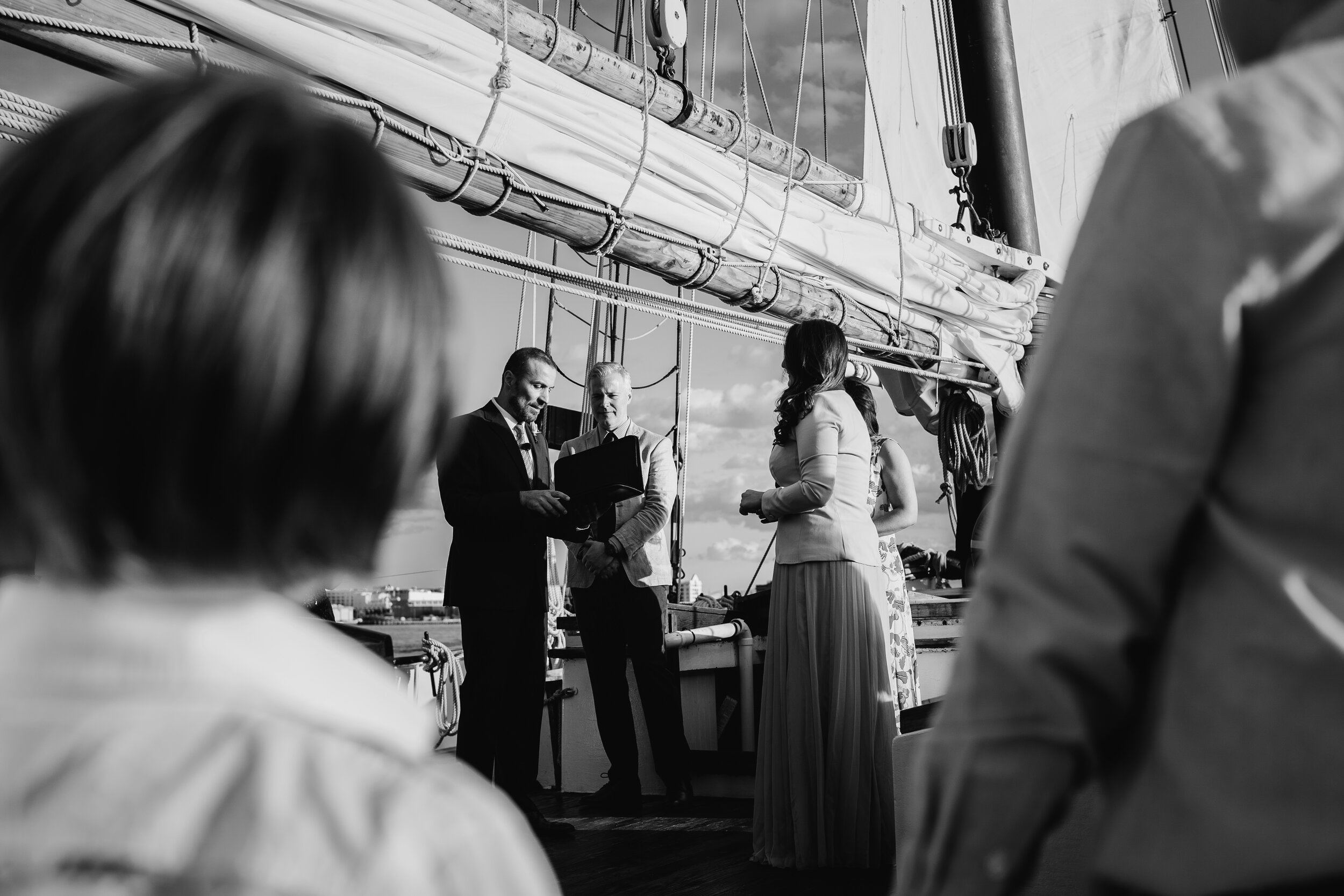 Boston Wedding Liberty Clipper Intimate Wedding Photography 20