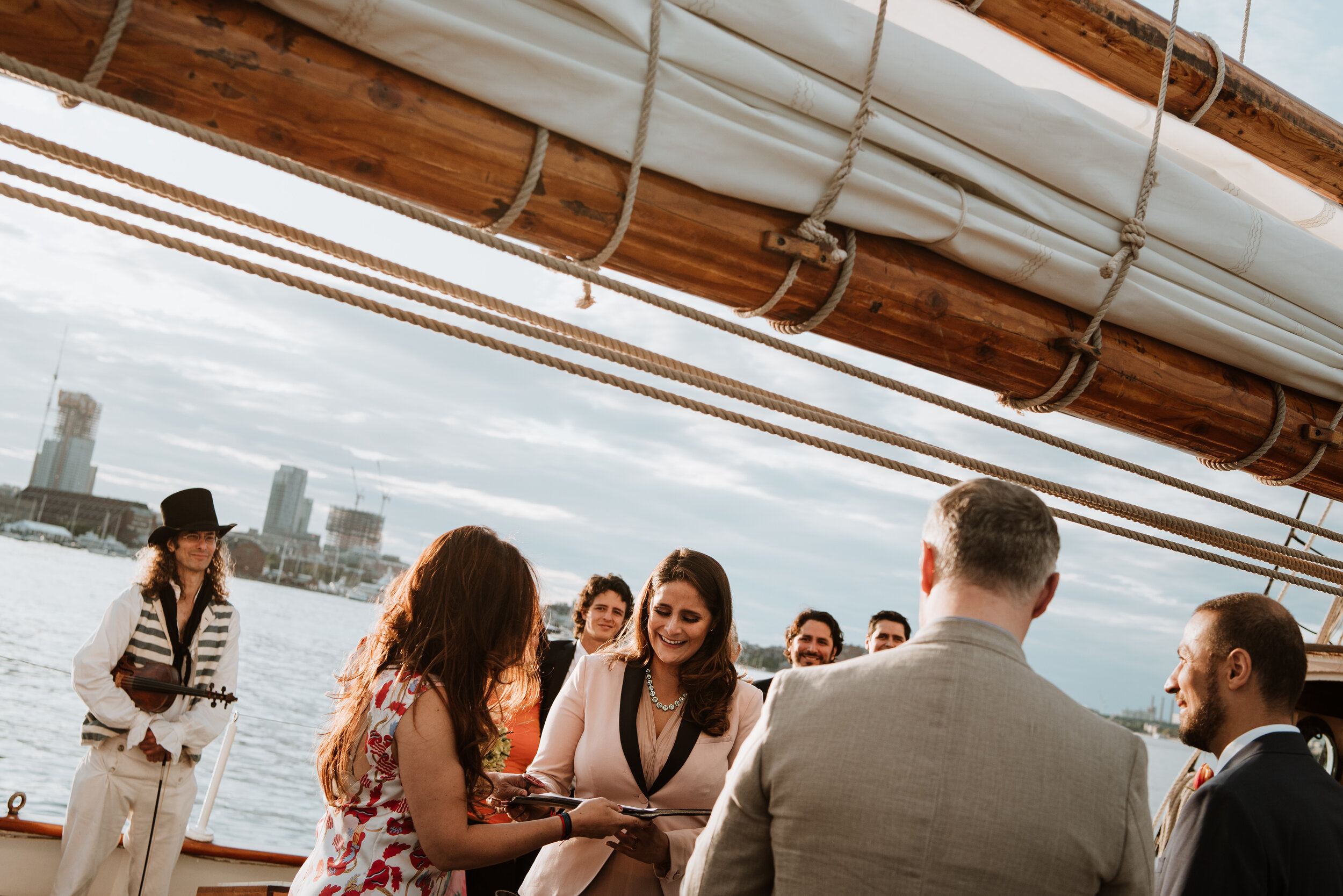 Boston Wedding Liberty Clipper Intimate Wedding Photography 21