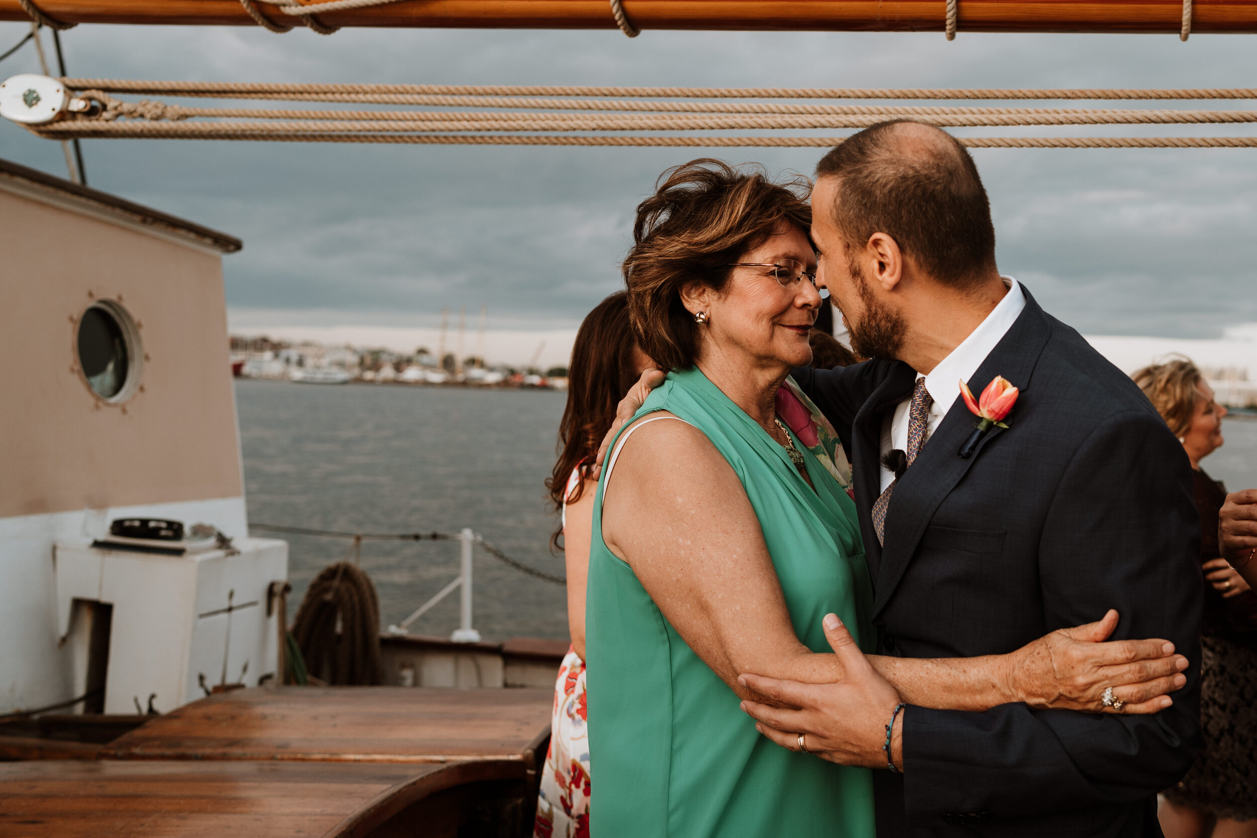 Boston Wedding Liberty Clipper Intimate Wedding Photography 27