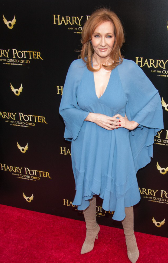 JK Rowling at Opening for Harry Potter and the Cursed Child