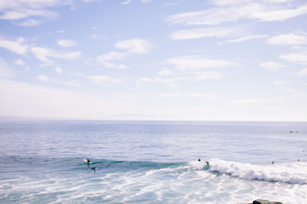 Dreaming of surf.   Santa Cruz, CA - January 2015.