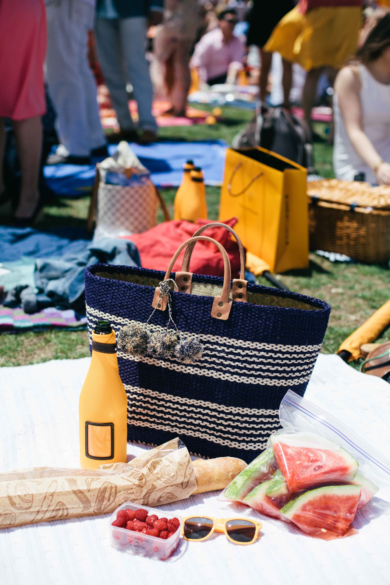 Scenes from the Veuve Cliquot Polo Classic. New York - May 2014.