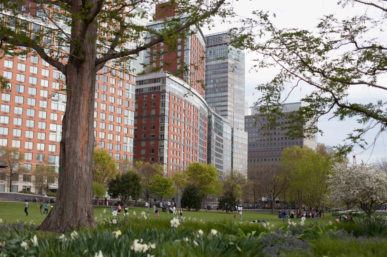Battery Park City - May 2014.