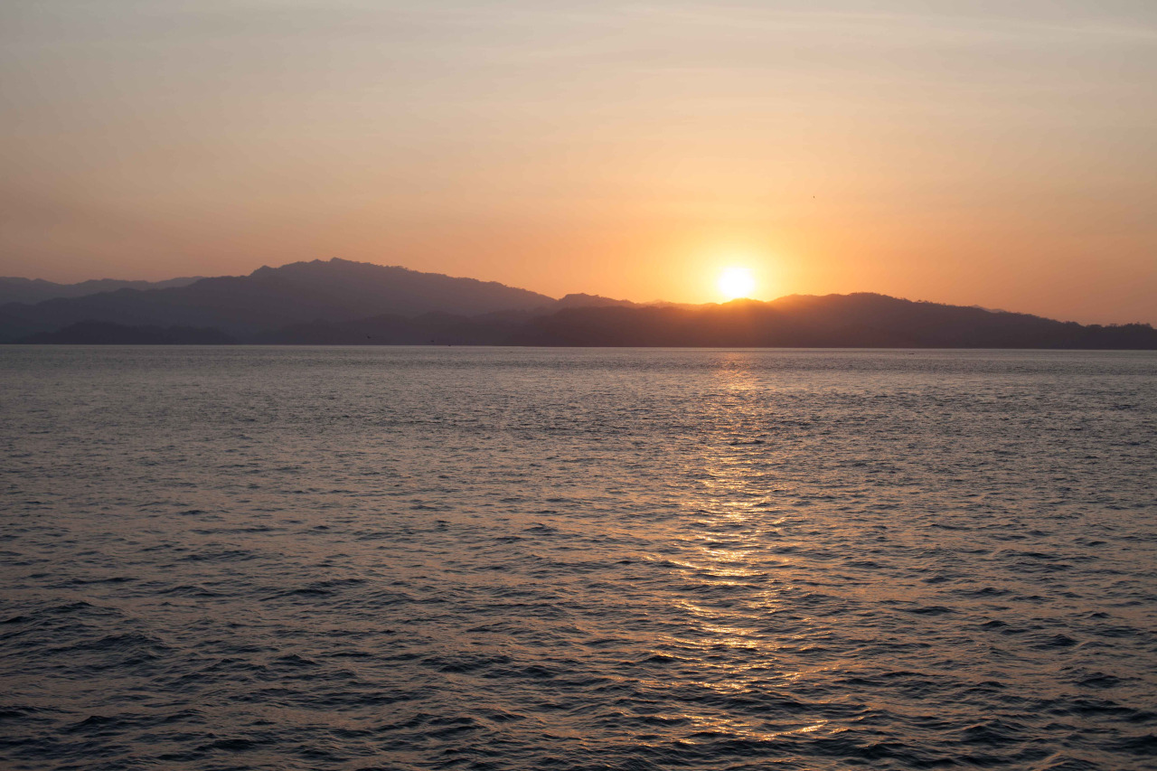 Sunset from the Ferry. Costa Rica - March 2014.