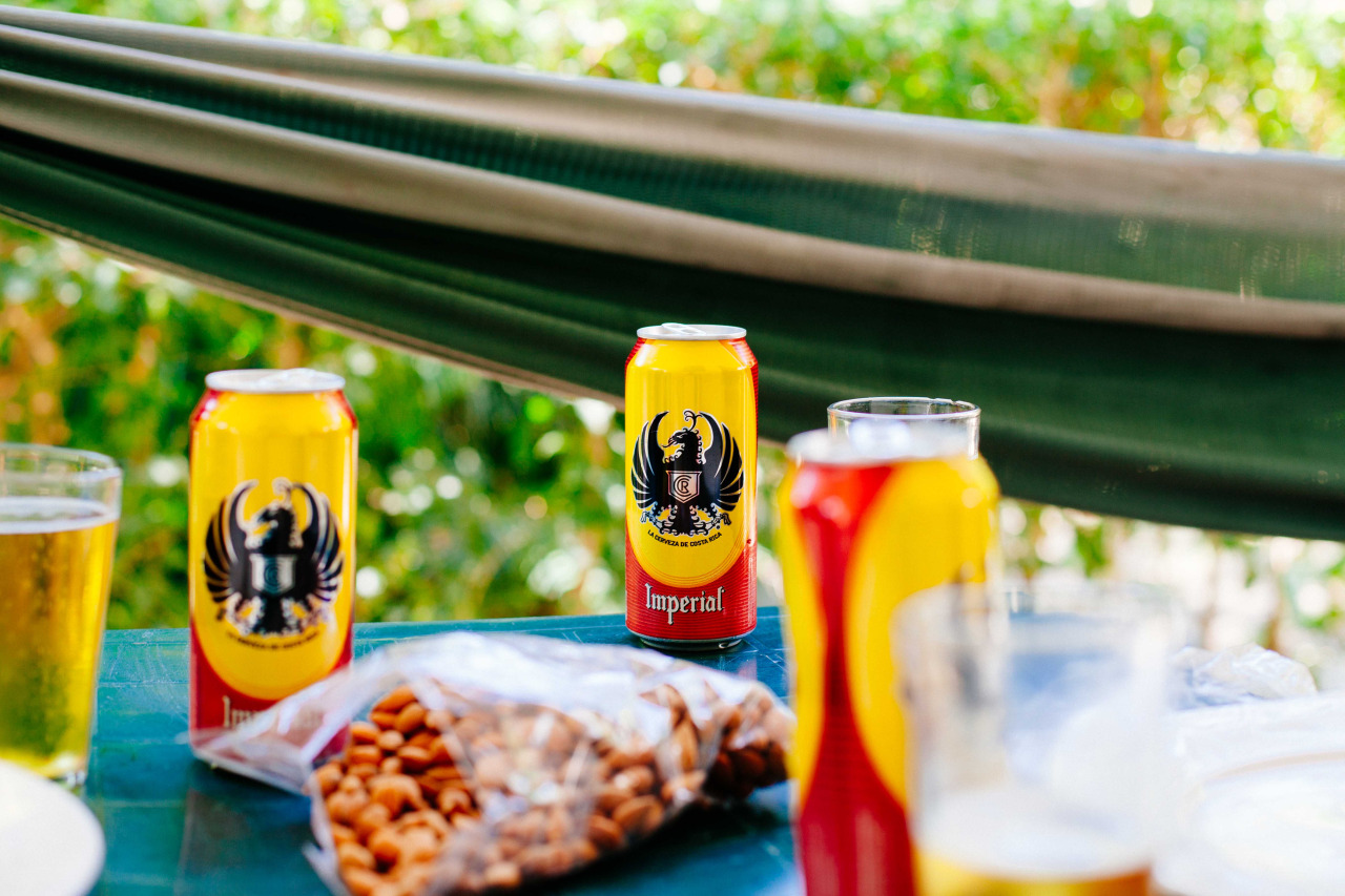 Post-surf beers. Costa Rica - March 2014.
