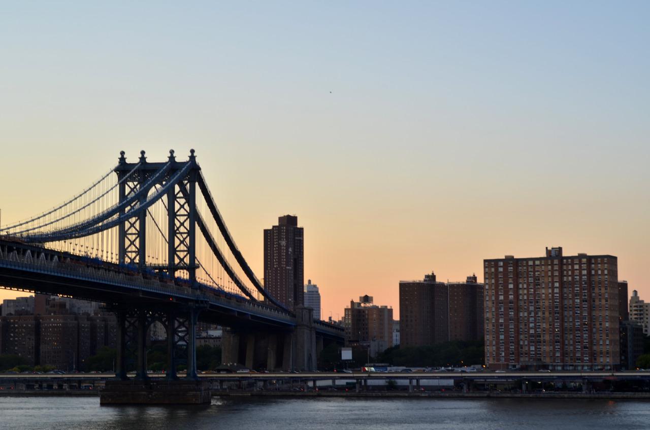 Sunset on Manhattan.
