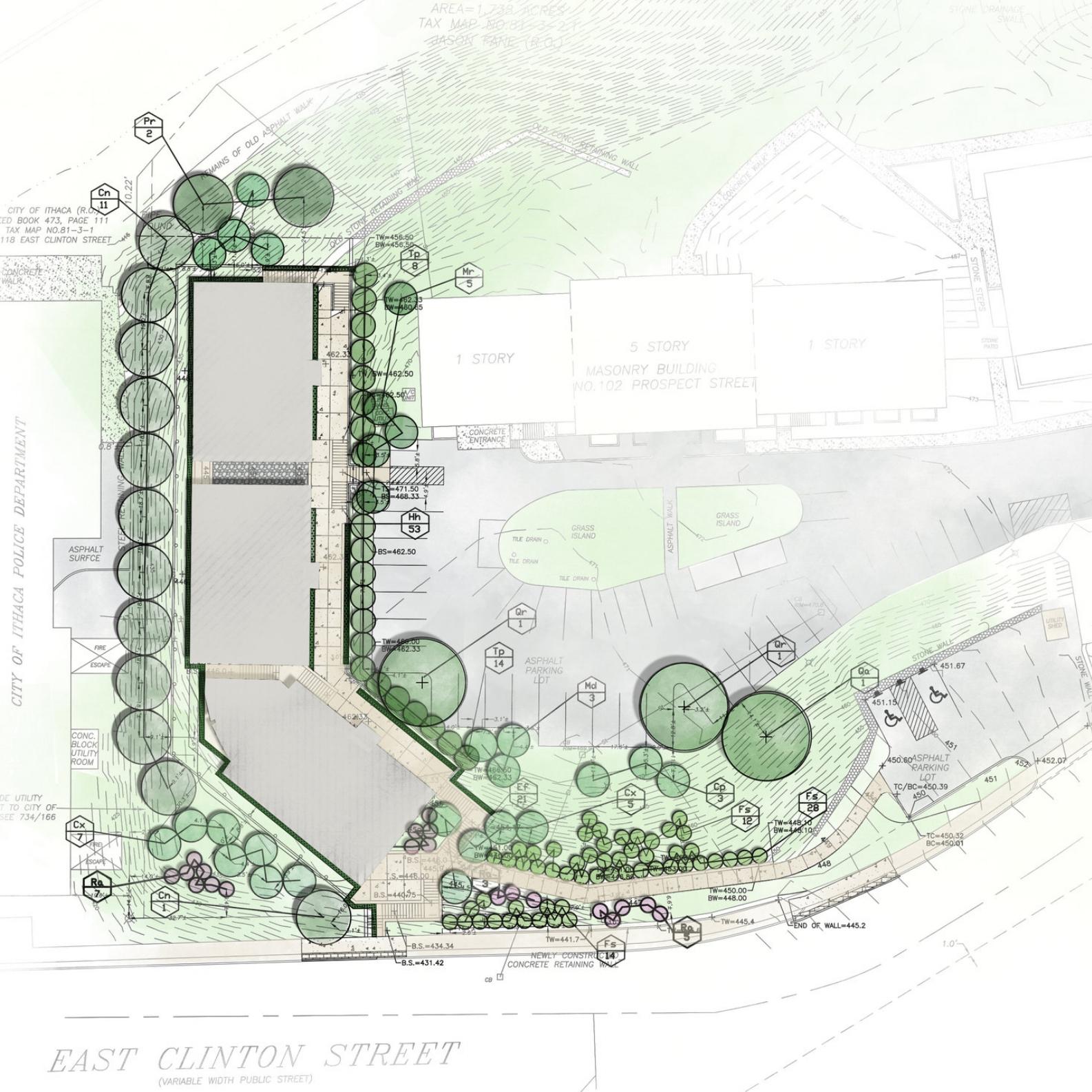130 Clinton Street | Landscape Architecture