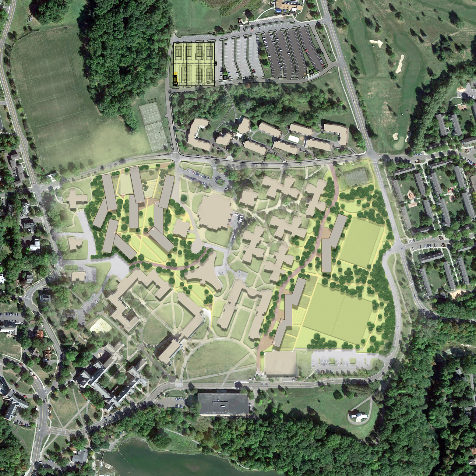Cornell North Campus RFP |  Site Design